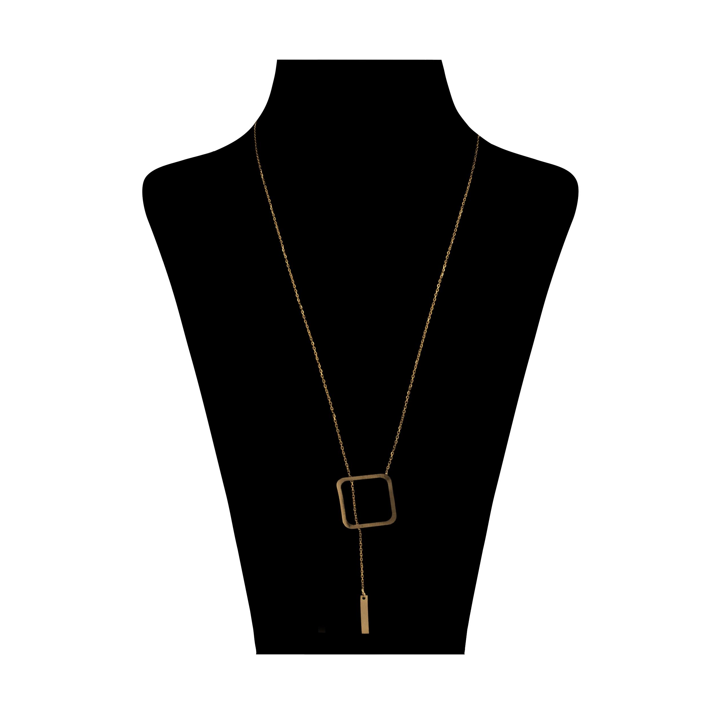 گردنبند طلا 18 عیار زنانه آلند کد TGA27