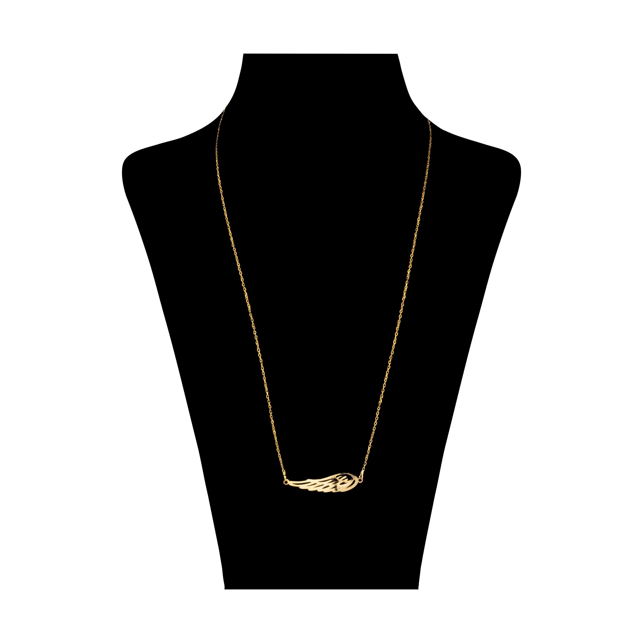 گردنبند طلا 18 عیار زنانه آلند کد TGA40