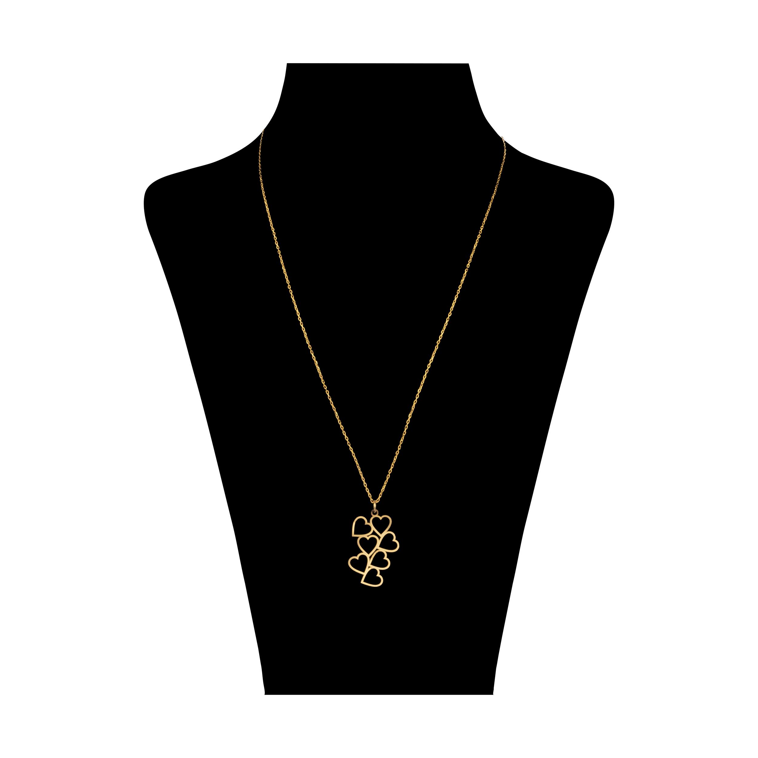 گردنبند طلا 18 عیار زنانه آلند کد TGA36