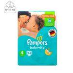 پوشک پمپرز مدل New Baby Dry سایز 4 بسته 44 عددی thumb