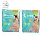 پوشک پمپرز مدل New Baby Dry سایز 4 بسته 25 × 2 عددی thumb
