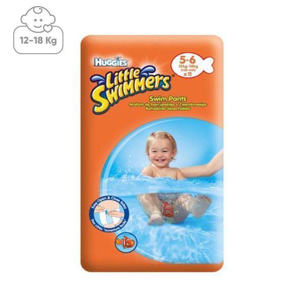 پوشک استخری هاگیز مدل little swimmer سایز 5 بسته 11 عددی