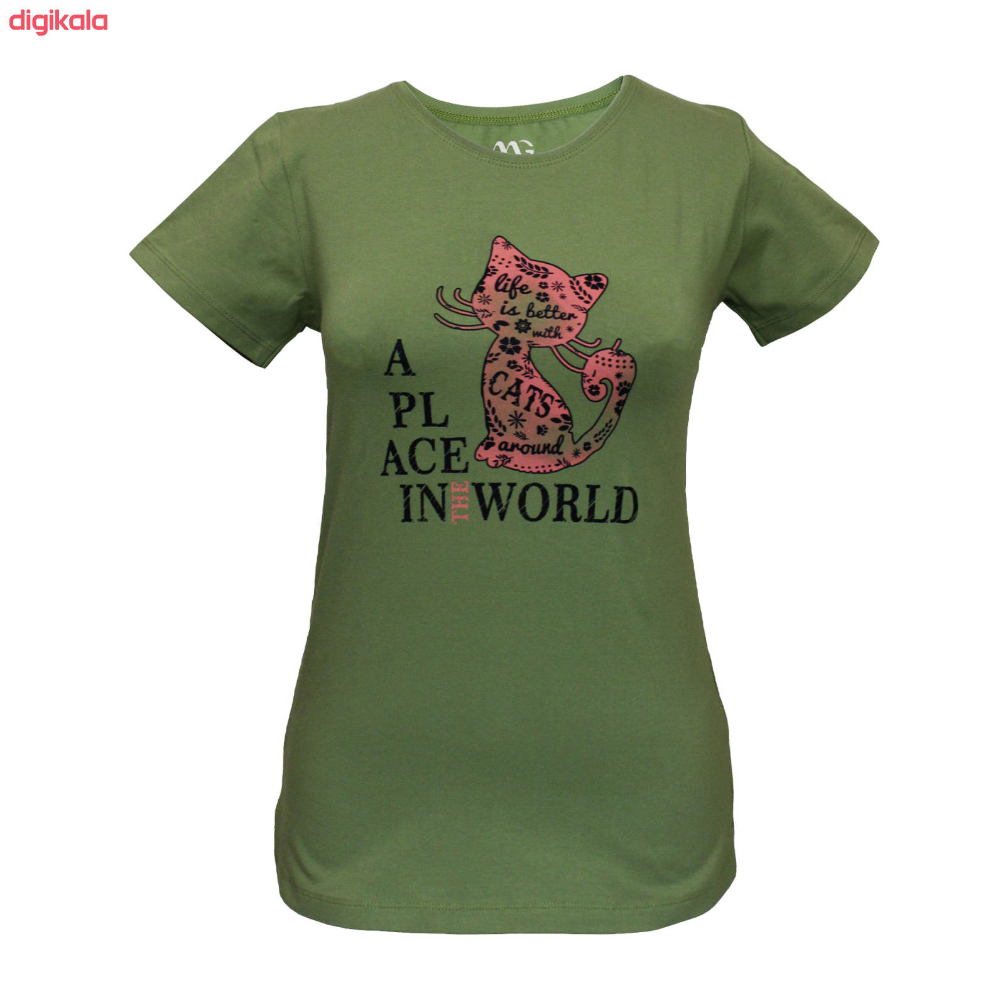 ست تی شرت و شلوار زنانه مدل PWG 001 main 1 1