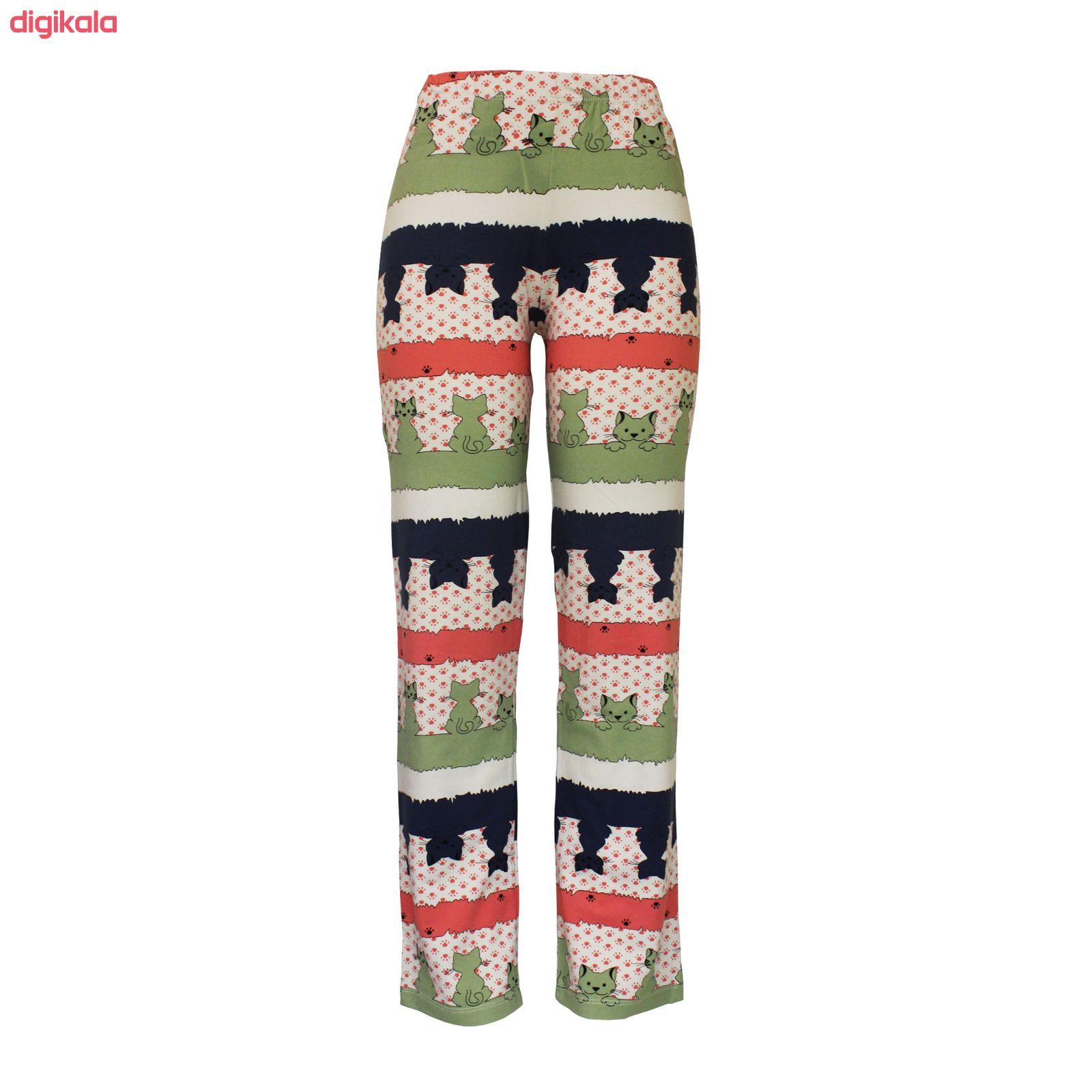 ست تی شرت و شلوار زنانه مدل PWG 001 main 1 2