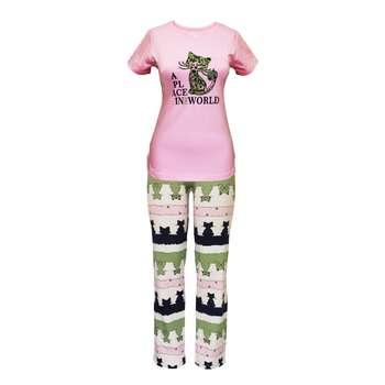 ست تی شرت و شلوار زنانه مدل PWP 001