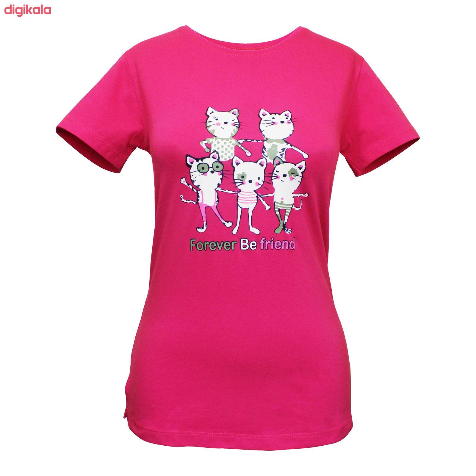 ست تی شرت و شلوار زنانه مدل FBFM 001 main 1 1