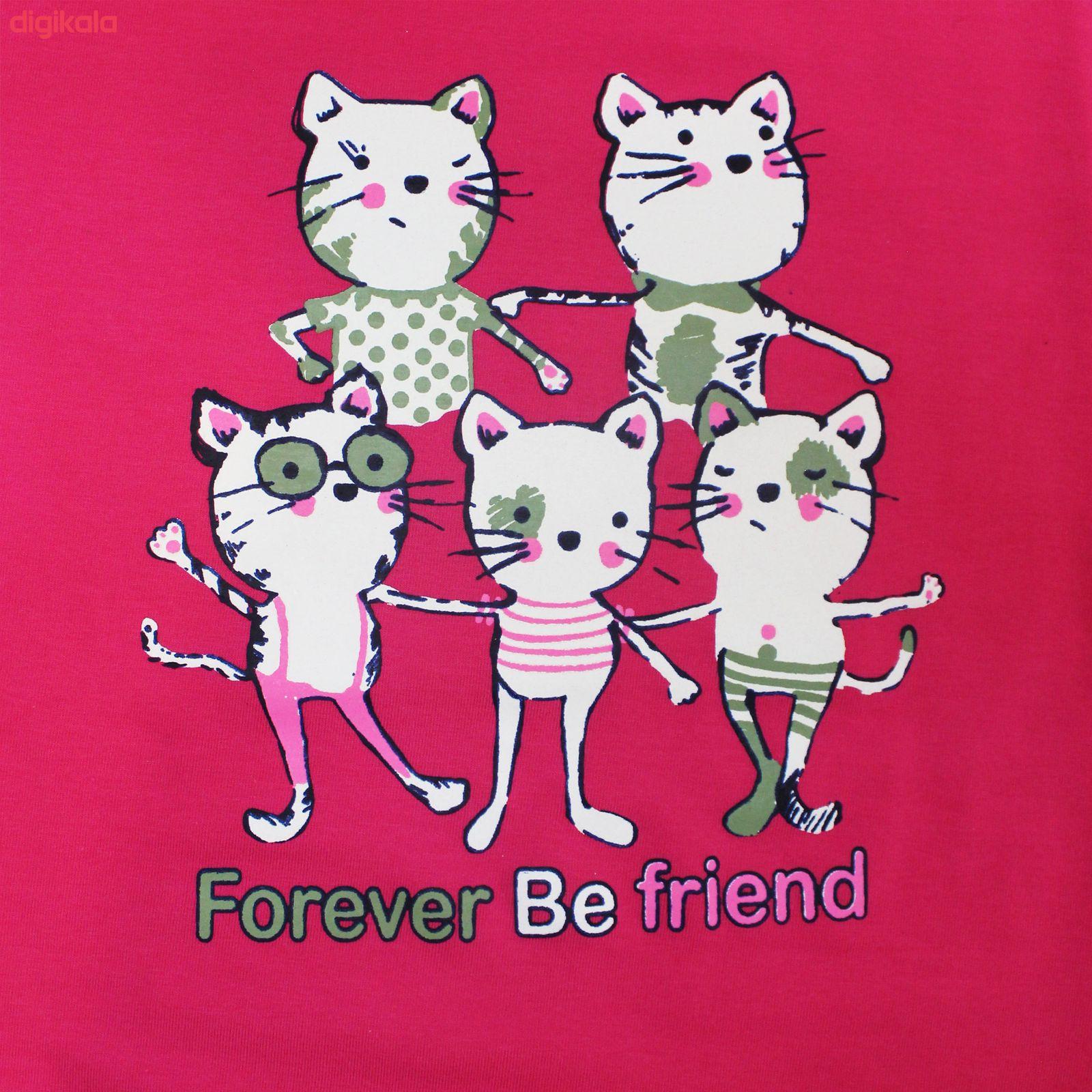 ست تی شرت و شلوار زنانه مدل FBFM 001 main 1 4