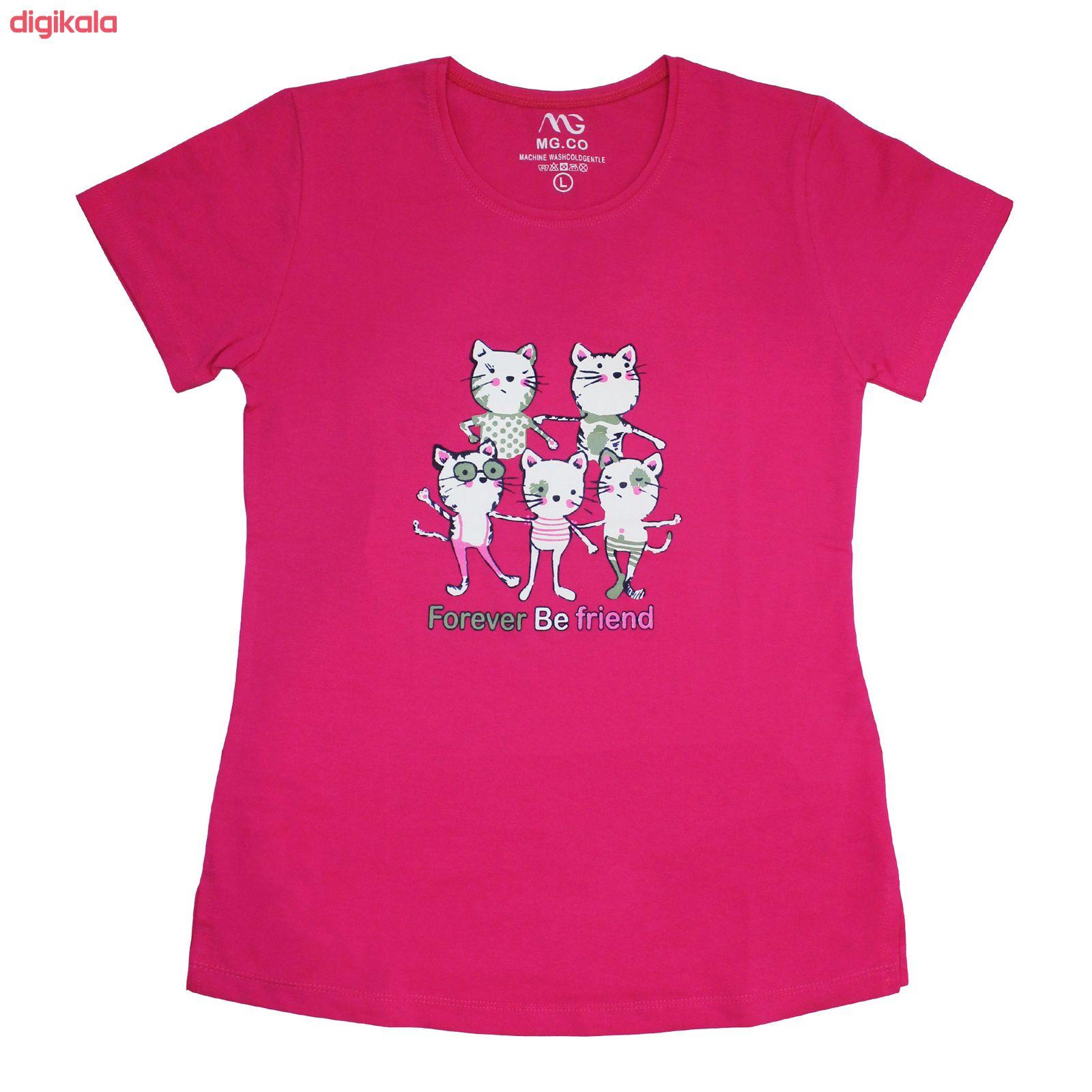 ست تی شرت و شلوار زنانه مدل FBFM 001 main 1 5