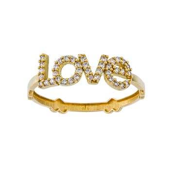 انگشتر طلا 18 عیار زنانه جواهری سون مدل 2512