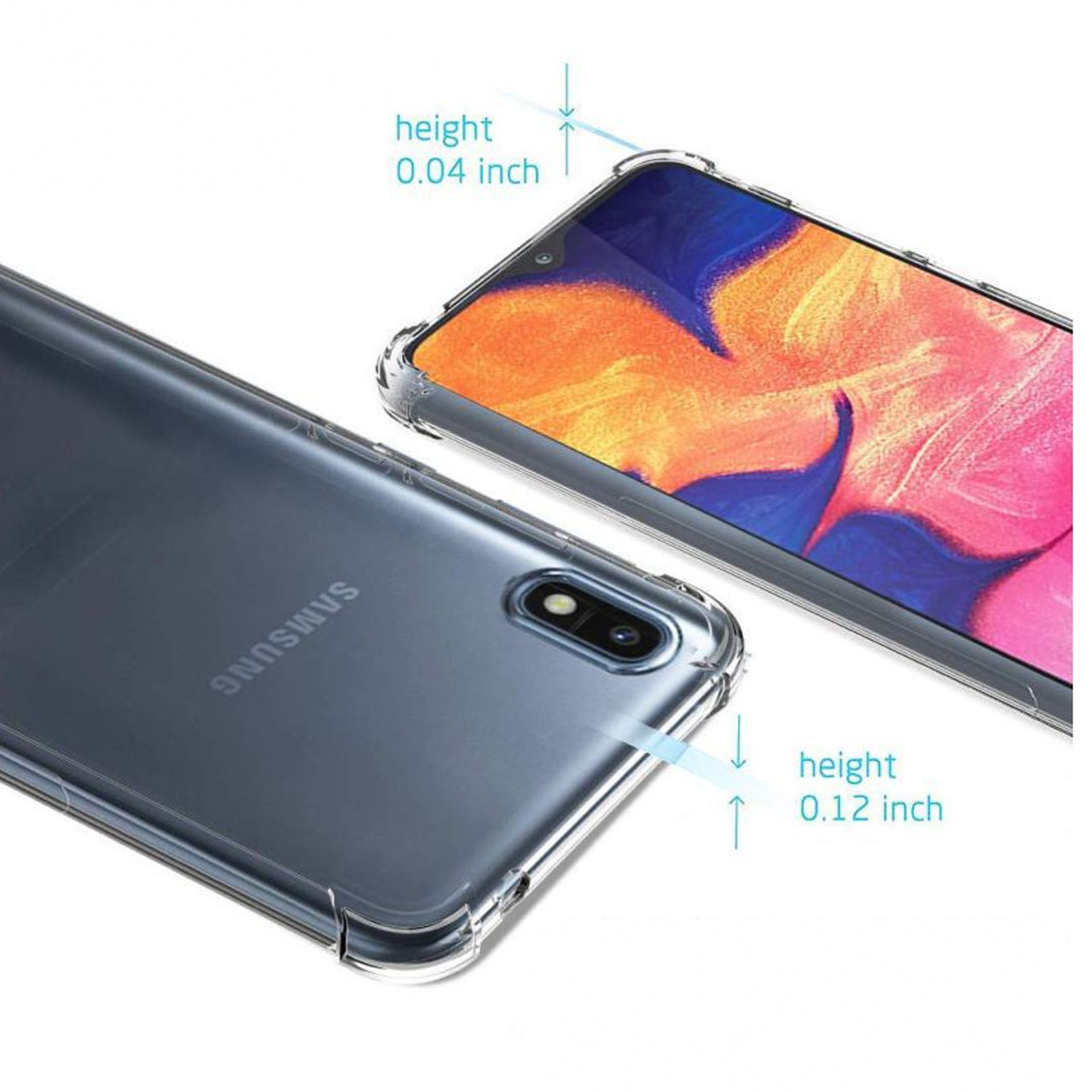 کاور مدل Eouro مناسب برای گوشی موبایل سامسونگ Galaxy A10 thumb 2 3