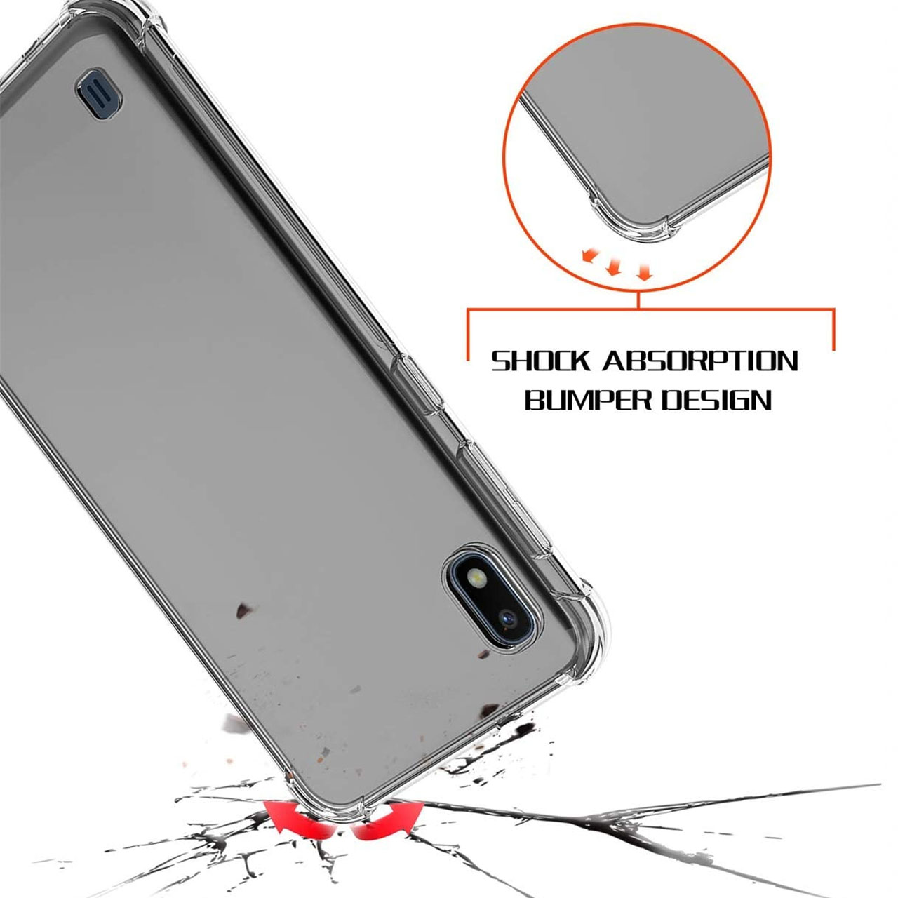 کاور مدل Eouro مناسب برای گوشی موبایل سامسونگ Galaxy A10 thumb 2 4