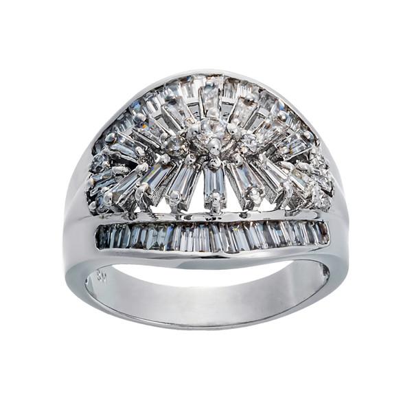 انگشتر طلا 18 عیار زنانه جواهری سون مدل 2429