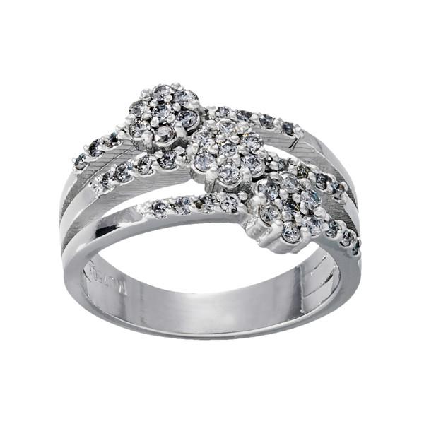 انگشتر طلا 18 عیار زنانه جواهری سون مدل 2425