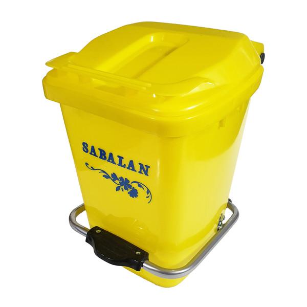 سطل زباله پدالی سبلان کد Mado-012P