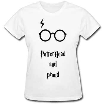 تی شرت زنانه طرح عینک هری پاتر کد hp-201