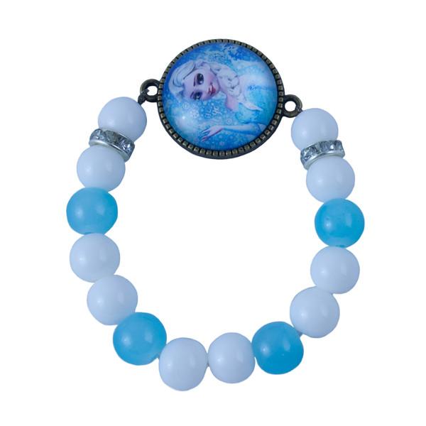 دستبند دخترانه طرح السا کد 1200