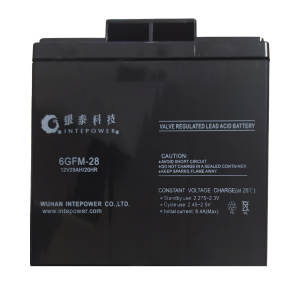 باتری یو پی اس 12 ولت 28 آمپر ساعت مدل 6GFM28