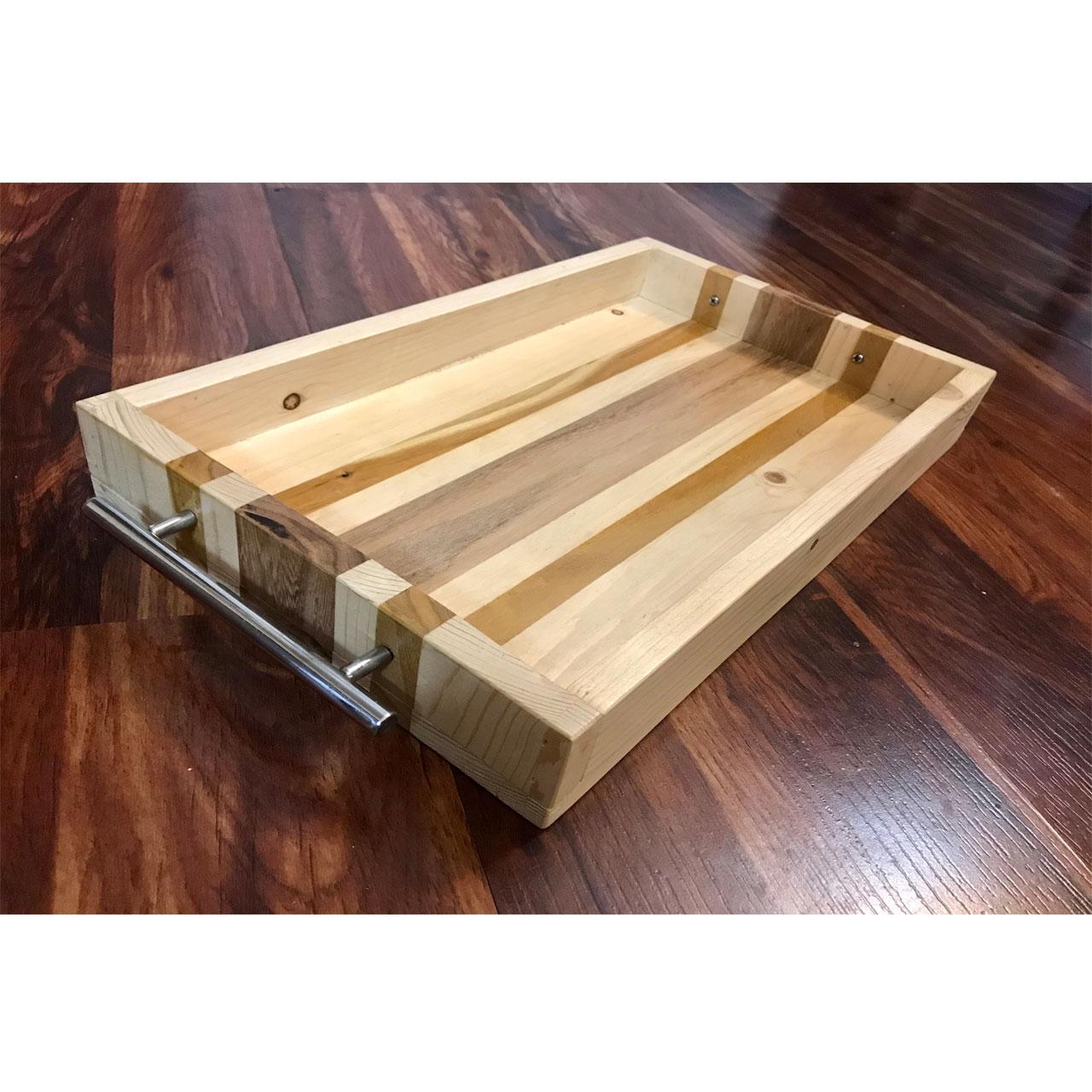 خرید                      سینی چوبی کد 408