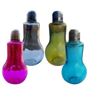 بطری مایعات طرح لامپ