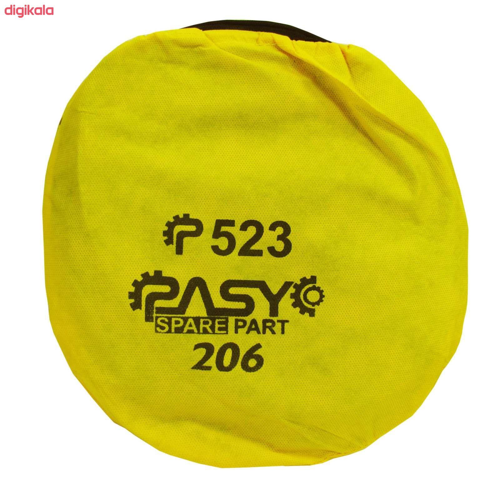 آفتاب گیر شیشه خودرو پاسیکو مدل P523 مناسب برای پژو 206 بسته 4 عددی main 1 1