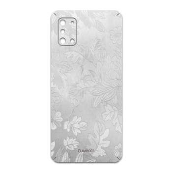برچسب پوششی ماهوت مدل Silver-Wildflower مناسب برای گوشی موبایل سامسونگ Galaxy A31