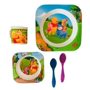 ظرف غذای 5 تکه کودک طرح کد SH-624