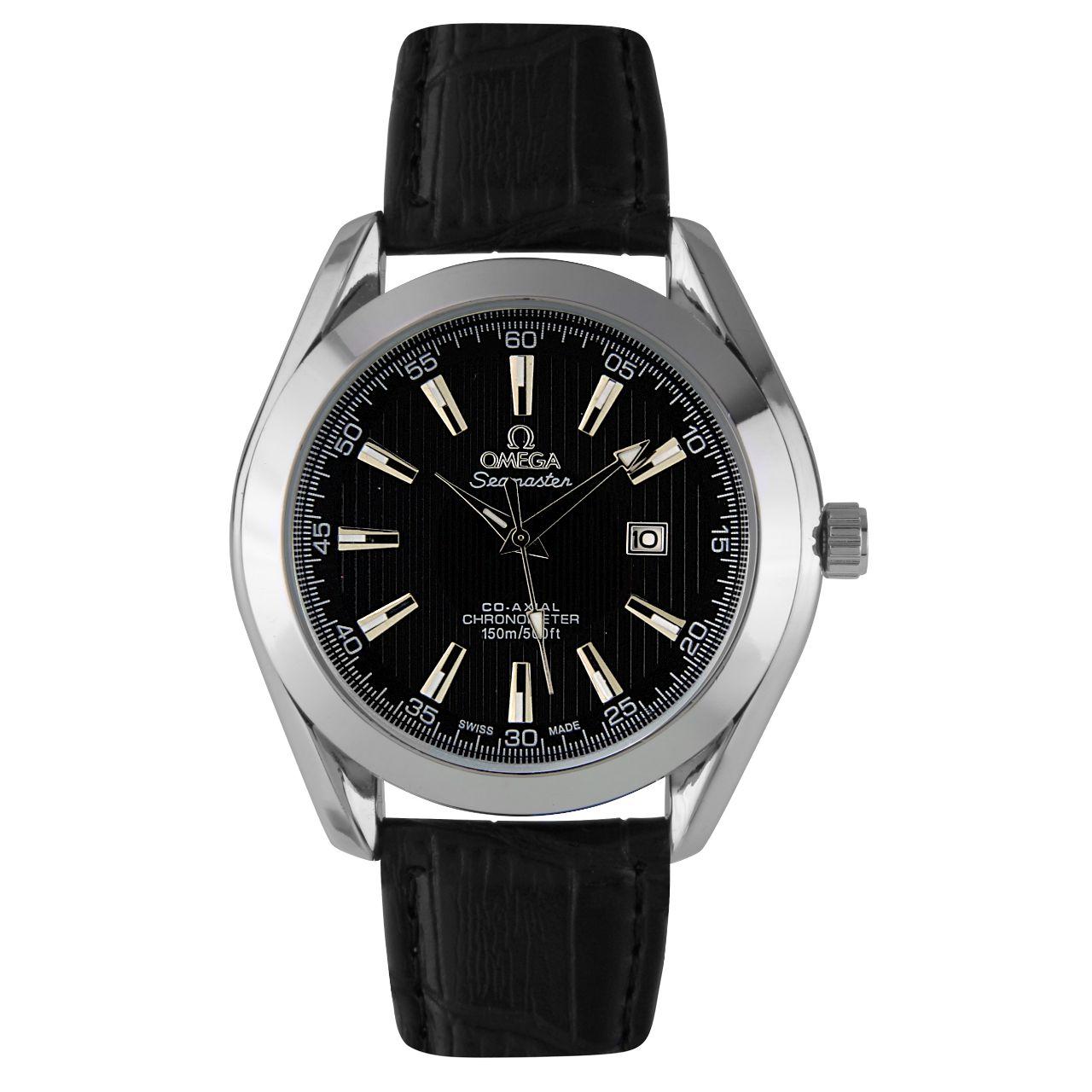 قیمت                      ساعت مچی عقربه ای مردانه مدل O.M.G 01