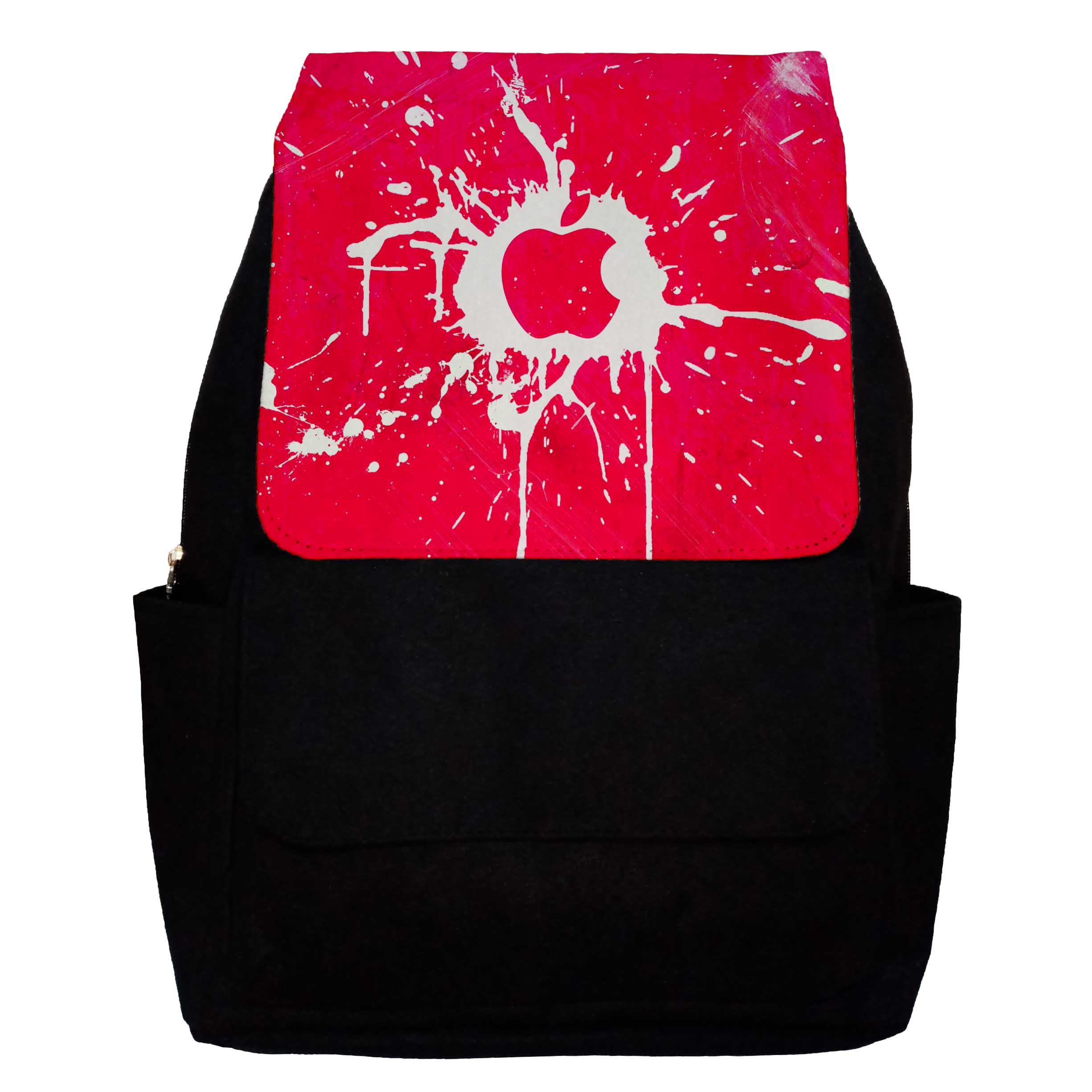کوله پشتی دخترانه طرح Apple مدل G21