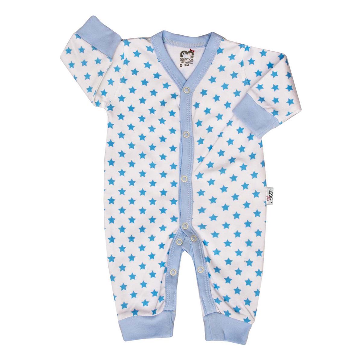 سرهمی نوزادی آدمک طرح ستاره آبی کد 502500