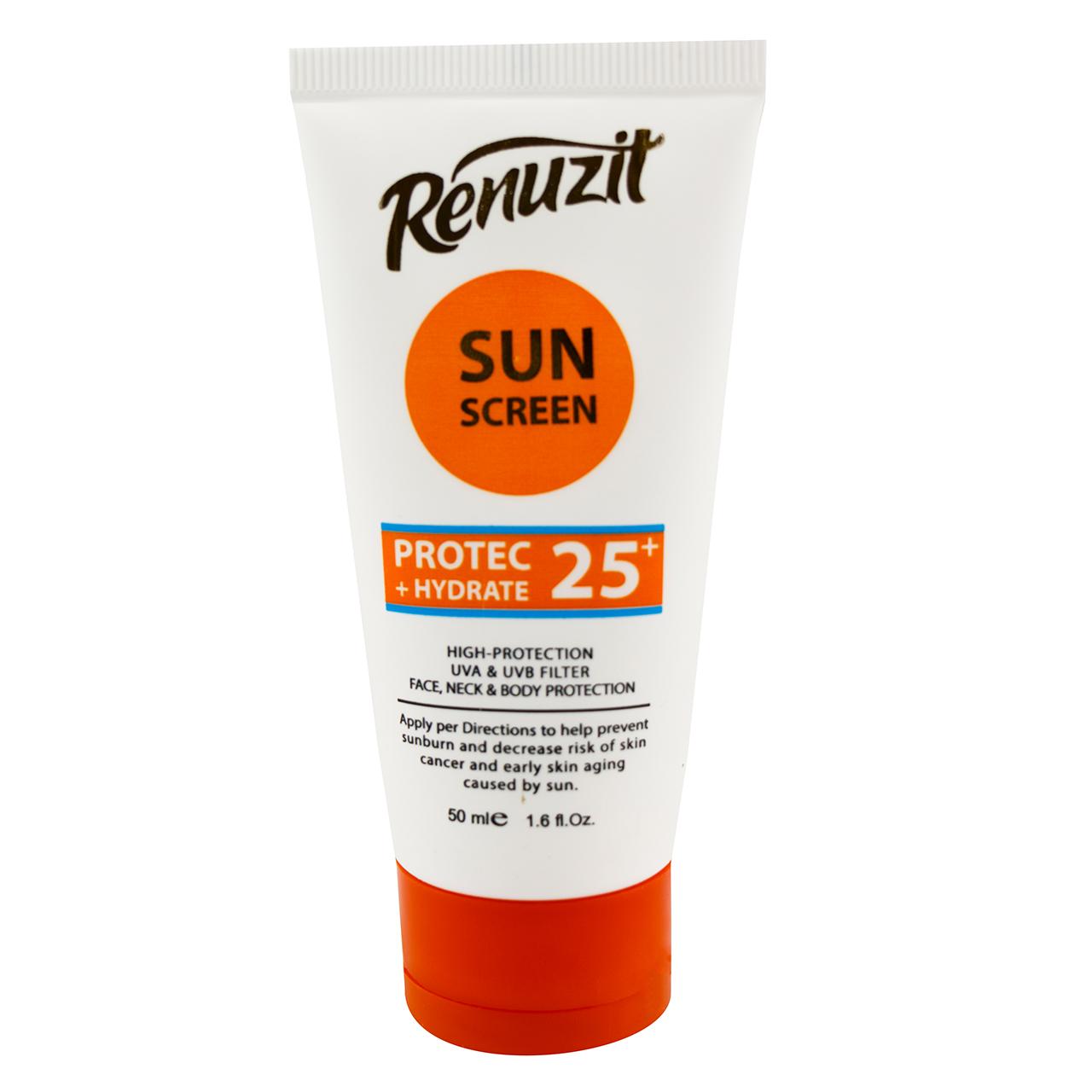 کرم ضد آفتاب رینوزیت مدل BE25 حجم 50 میلی لیتر