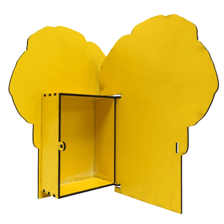 خرید                      جعبه هدیه چوبی طرح سگ های نگهبان کد JASND7