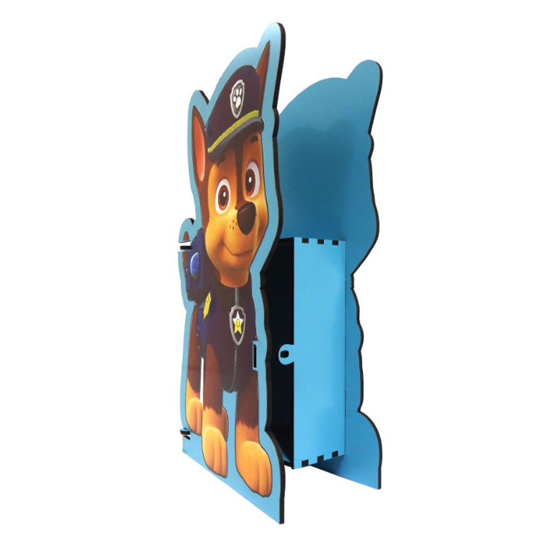 جعبه هدیه چوبی طرح سگ های نگهبان کد JASNP12