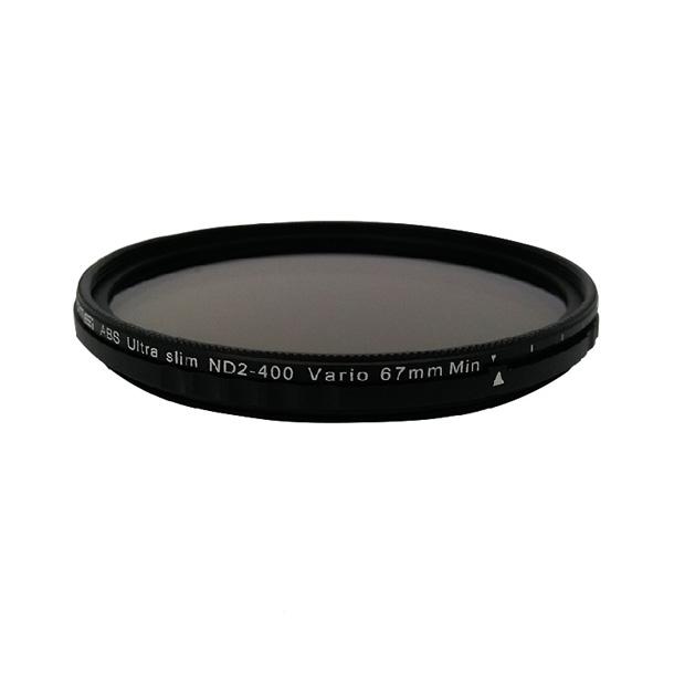 فیلتر لنز زومی مدل  ABS Ultra Slim ND2-400 Vario 67mm