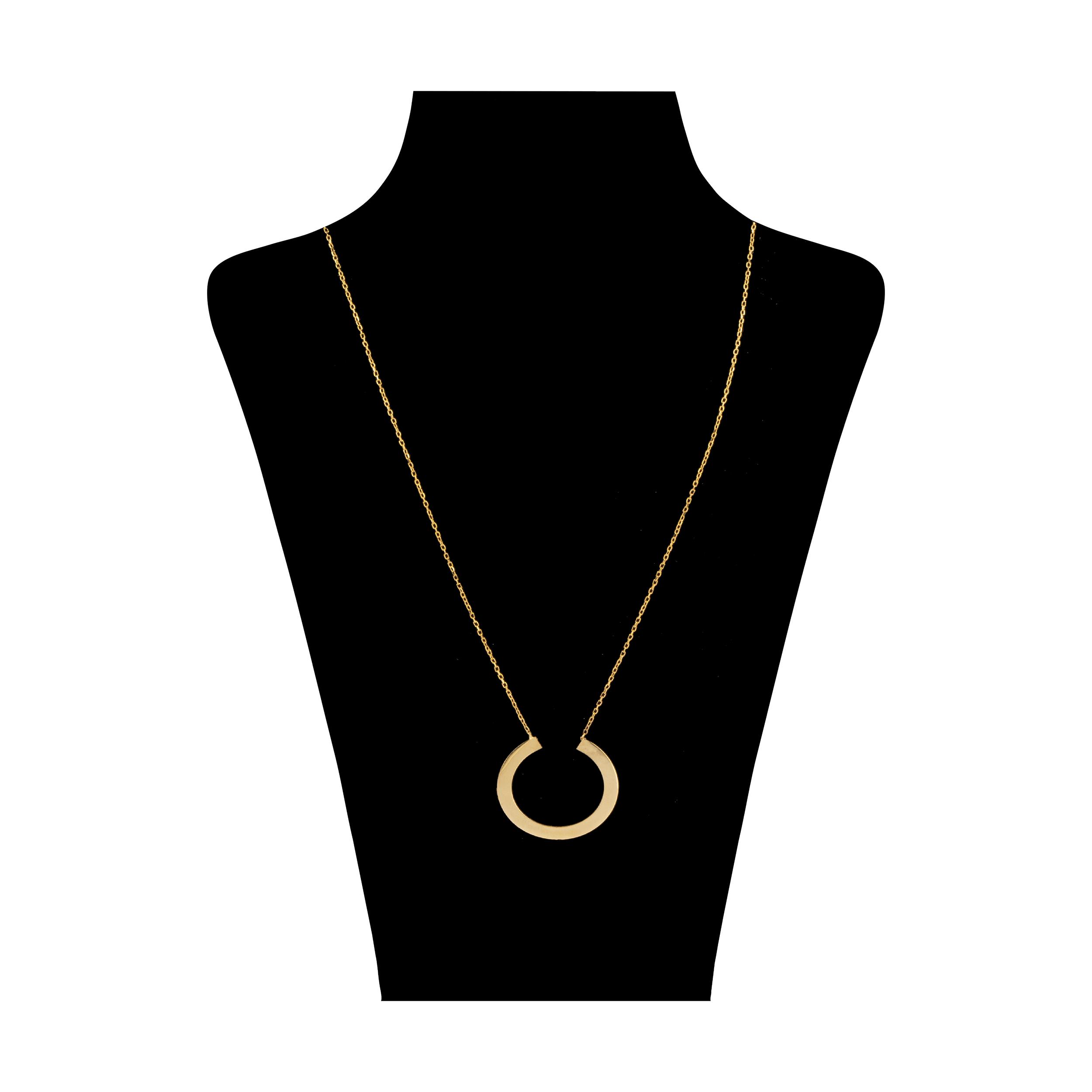 گردنبند طلا 18 عیار زنانه آلند کد TGA25