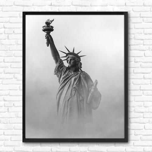 تابلو دیواری طرح مجسمه آزادی کد NS 006