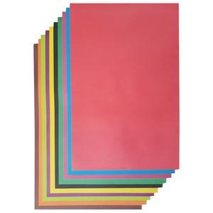 مقوا رنگی کد 102 سایز 50x70 سانتی متر بسته 10 عددی