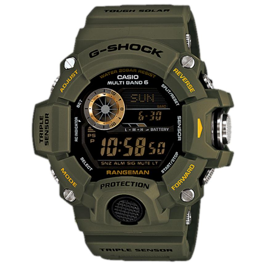 ساعت مچی دیجیتال مردانه کاسیو مدل جی شاک کد GW-9400-3DR              👙