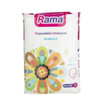 پد زیر انداز راما مدل 01 بسته 10عددی