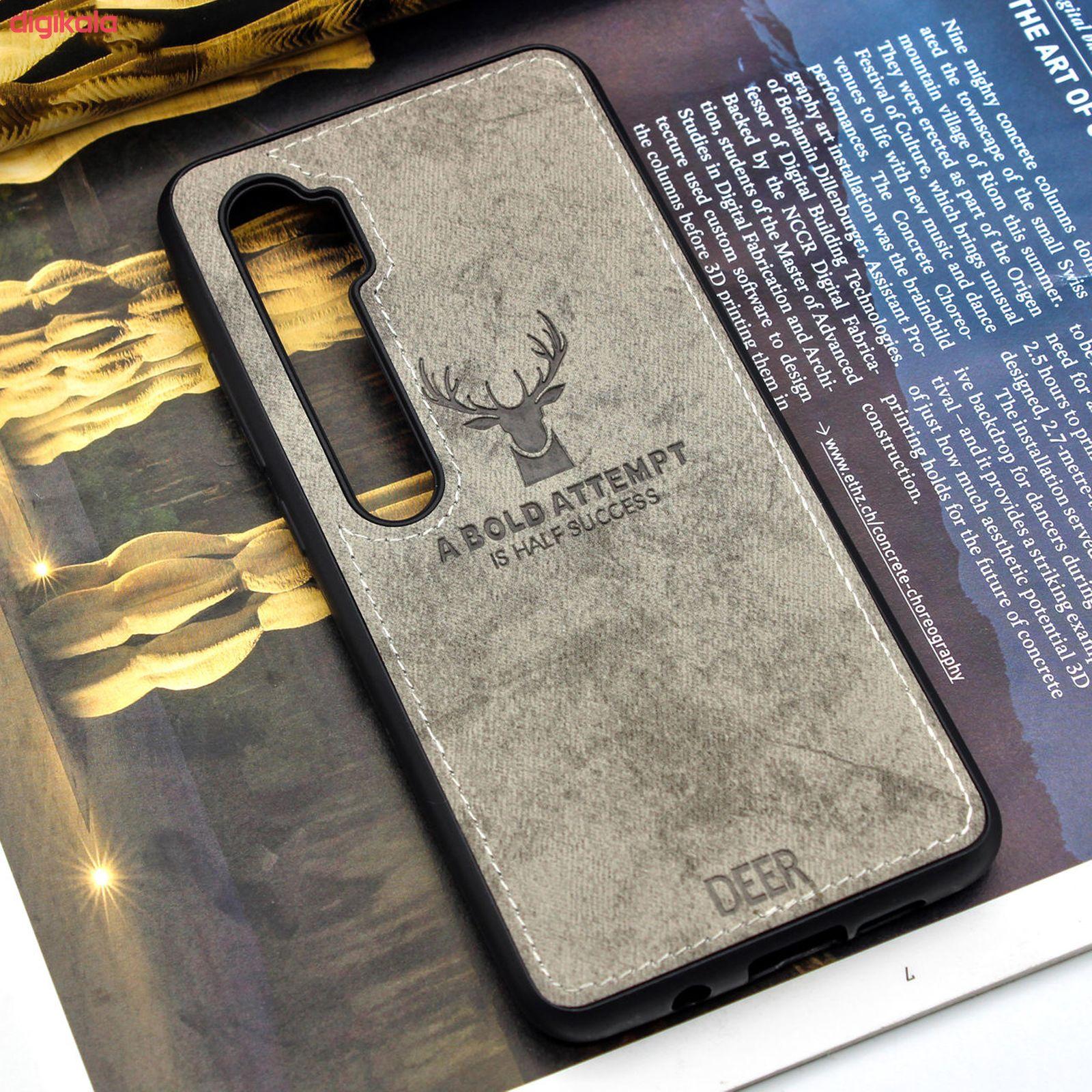 کاور مدل CO355 طرح گوزن مناسب برای گوشی موبایل شیائومی Mi Note 10/Note 10 Pro/CC9 Pro main 1 2