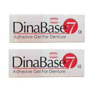 چسب دندان مصنوعی داینابیس7 مدل HRZ وزن 20 گرم مجموعه 2 عددی