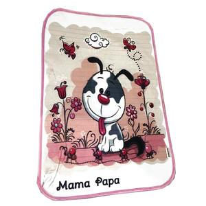 زیرانداز تعویض نوزاد ماما پاپا طرح سگ خوشحال کد 200