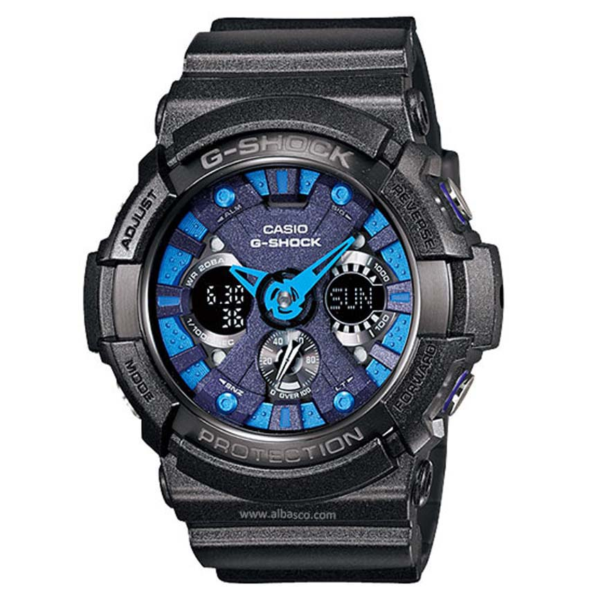 ساعت مچی عقربه ای مردانه کاسیو مدل جی شاک کد GA-200SH-2A              👙