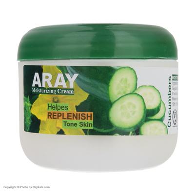 کرم مرطوب کننده آرای مدل Cucumbers وزن 110 گرم