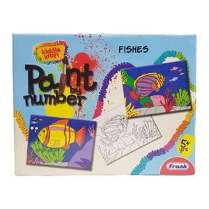 بازی آموزشی فرانک مدل رنگ آمیزی ماهی ها کد 34205