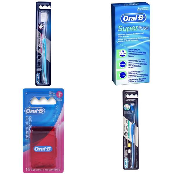 مجموعه مراقبت از دندان اورال-بی مدل ارتودنسی