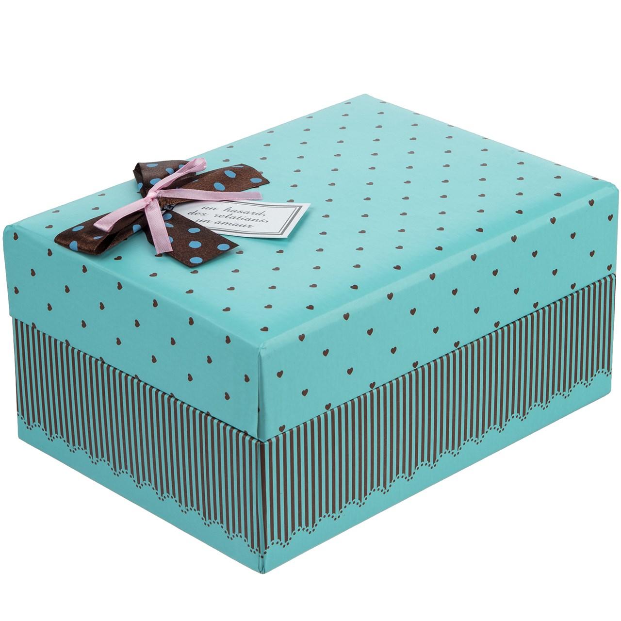 جعبه کادویی طرح قلب های کوچک 2