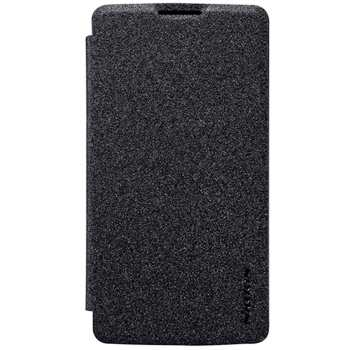 کیف کلاسوری نیلکین مدل New Leather Sparkle مناسب برای گوشی موبایل LG Leon