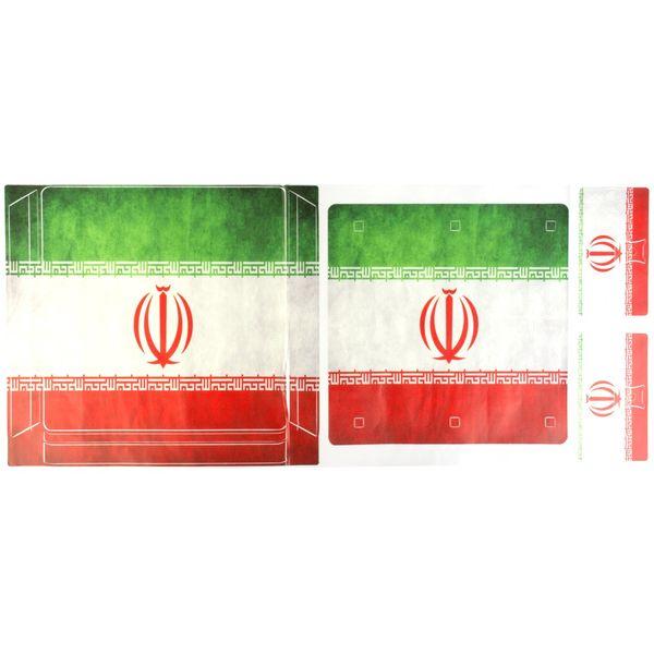 برچسب پلی استیشن 4 اسلیم مدل Iran Flag