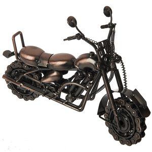 تندیس فلزی مدل Motorcycle