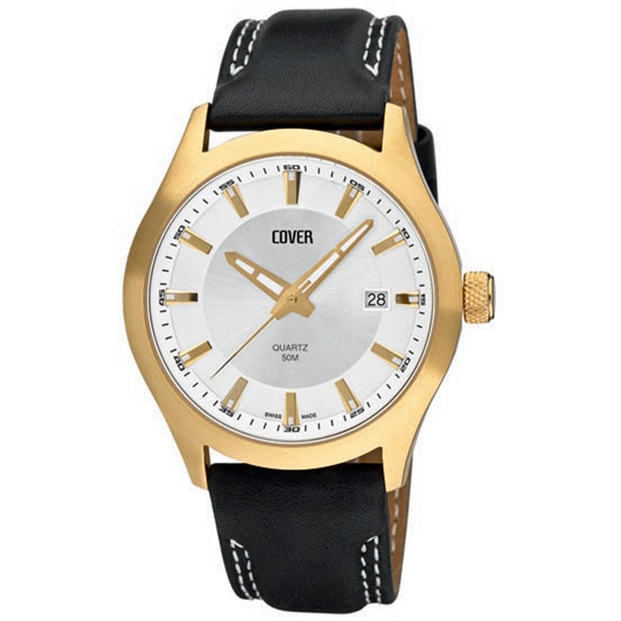 ساعت مچی عقربه ای مردانه کاور مدل Co22.PL2LBK